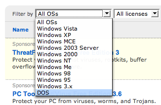 Antivirus Software Operating System Options