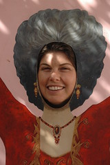 Lorna as Evita