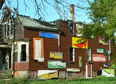 The Heidelberg Project in Downtown Detroit (DetroitDerek Photography ( ALL RIGHTS RESERVED )) Tags: autumn urban favorite art fall abandoned shoe cool october downtown michigan empty urbandecay detroit ruin historic explore popart vacant heidelberg 1986 2007 damncool guyton tyreeguyton excapture
