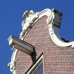 Galbe sur Reestraat, architecture typique des 9 straatjes