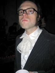 Collin in costume (erica magrey) Tags: halloween austin costume jon who lace suit doctor cunningham lacey powers collin gentleman dandy pertwee narbotic