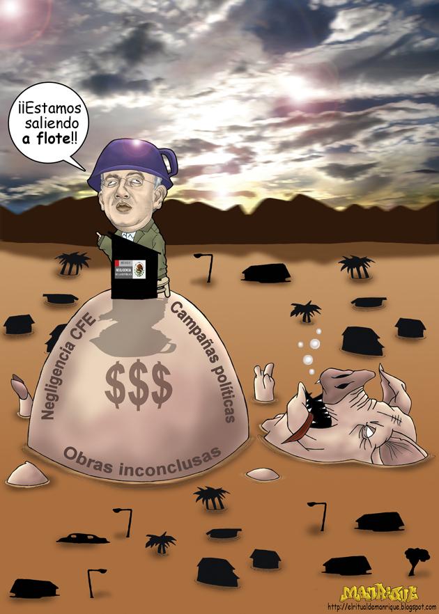 corrupción desbordada