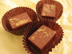 Ginger-Hazelnut Chocolates