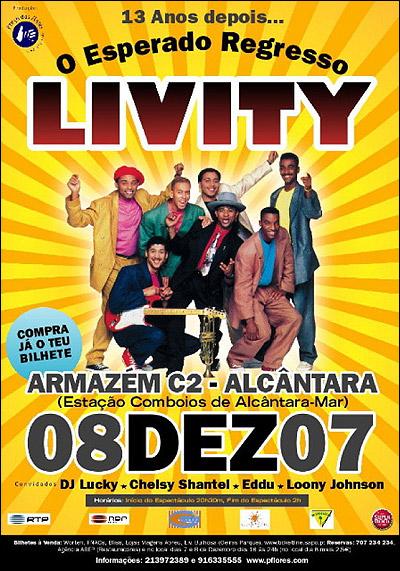 cartaz - Livity