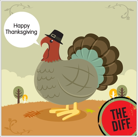 Happy Thanksgiving from the Quicken Loans DIFF blog!