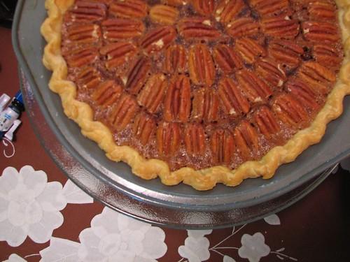 cocolate pecan pie