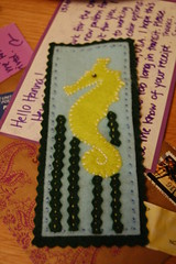 Sea horse bookmark