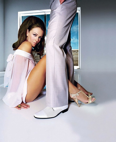 Elizabeth Hurley in High Heels
