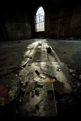 light show (Donaldduck1) Tags: abandoned window antwerp antwerpen decayed 1020sigma fineartphotos
