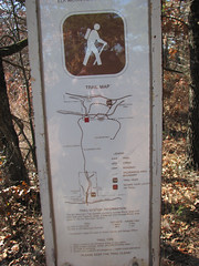 Trail Map (Indiahoma Wye, Oklahoma, United States) Photo