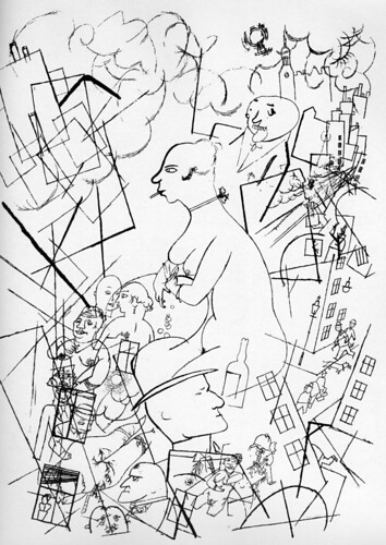 """Eva"" by George Grosz, 1918"