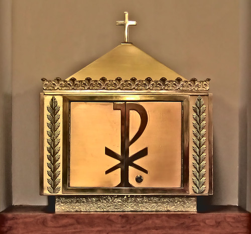 Saint Mary Magdalen Roman Catholic Church, in Saint Louis, Missouri, USA - tabernacle.jpg