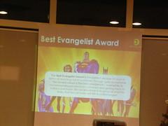 Best Evangelist Award (Sentosa Girl) Tags: day appreciation awards attributes 2007award