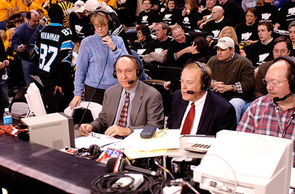 Dick Vitale at Work