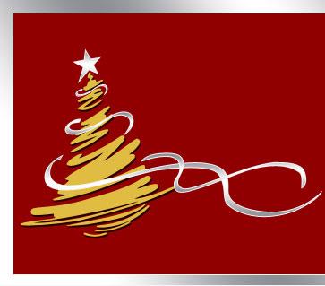 Arbol navidad estilizado