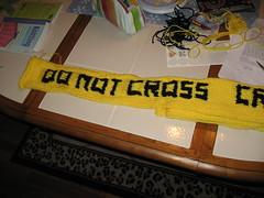 CSI scarf