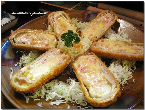 信義誠品大福豬排黃金里肌起司捲 Japanese Donkatsu (pork chop) roll with cheese