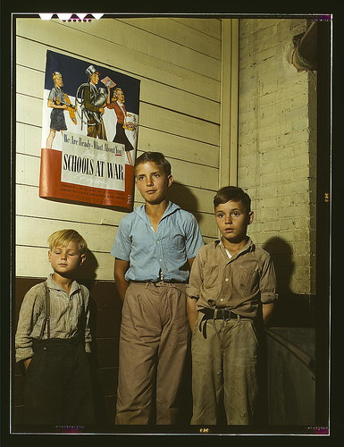 Rural school children, San Augustine County, Texas (LOC) by The Library of Congress.