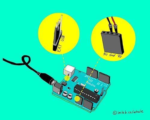 Arduino外接电源时的设置