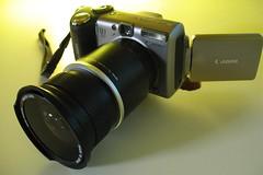 My New Opteka Semi-Fisheye Lens (joeysplanting) Tags: camera macro canon fisheye fisheyelens opteka powershota650is semifisheyelens