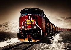 Locomotive Breath (sandy.redding) Tags: unionpacific railroads selectivecolor nikkor1855mmf3556g diamondclassphotographer tronarailroad