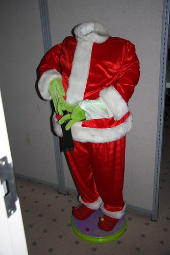 Headless Grinch