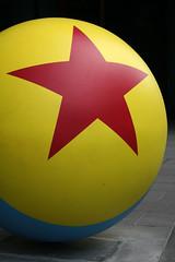Federation Square (amd300466) Tags: ball federationsquare melbourne redstar