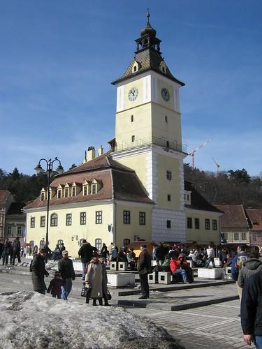 Brasov, Romania - Piata Sfatului - Council