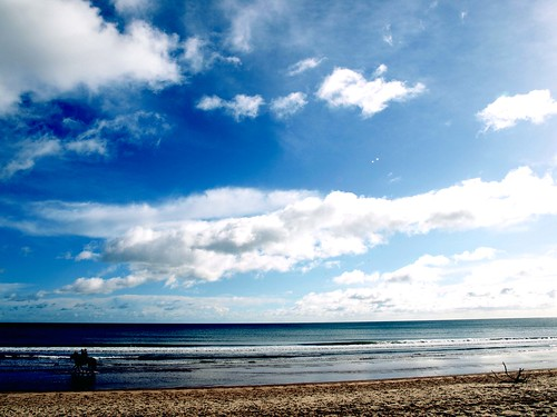sky sea strand