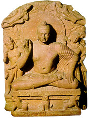 Mathura Buddha (professorbanerji) Tags: sculpture buddhism east relief devotional southasia southasian archeologicalmuseum chapter6 muttra