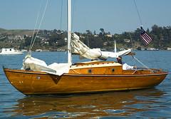 Sailboat Mist (RoddyB) Tags: sailboat wooden sailing sanfranciscobay sausalito richardsonbay sfbaywoodenboats