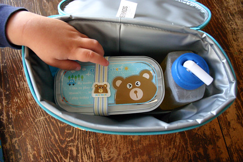 Bento in the lunch box