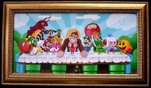 La Cène de Nintendo