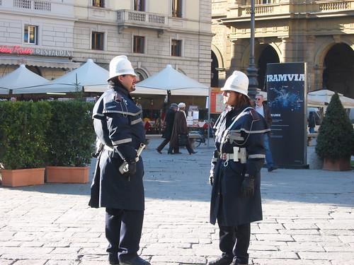 Piazza della Repubblica police