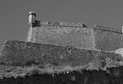 El castell de Cardona (~Oryctes~) Tags: bw castle wall pared abril gimp catalonia catalunya 2008 ubuntu paret pasoscatalans blancinegre castell bages cardona ufraw canonefs1855mmf3556 canoneos400d photofaceoffwinner pfosilver gimp24