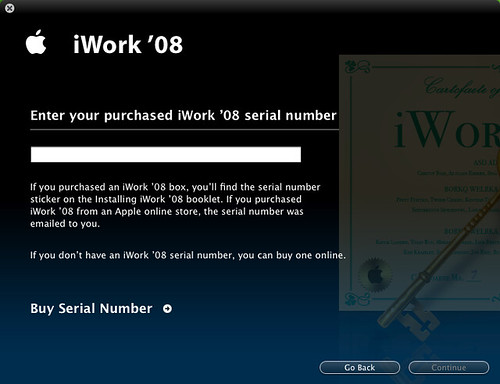 Iwork 06 Serial Number. iWork 09 + Serial Number Update iWork 2013 Mac OS-N