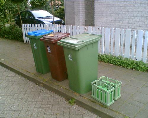 Urine collection in Ede (Netherlands)