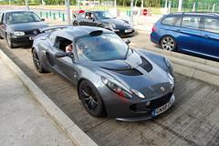 Lotus Exige S (D's Carspotting) Tags: lotus exige s france coquelles calais grey 20100613 gn58ekz le mans 2010 lm10 lm2010