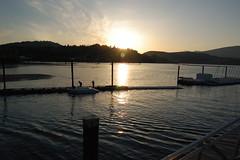 Sunset Over Dock at Burrard Inlet (JenJeff) Tags: sunset burrardinlet rockypoint portmoody