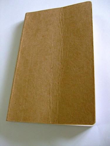 圓背麵包板手工精裝筆記本