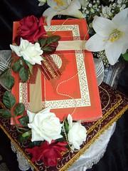 Royal red Quran set (Gubahan Asmara - Bridal Wedding Gifts) Tags: hantaran gubahan gubahanperkahwinan hantaranmelayu