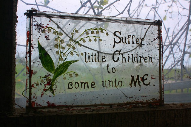 Suffer little Children to come unto ME.