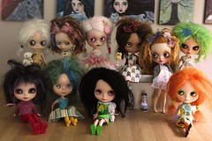 Mohair chacha Family by May 2011