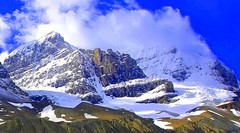 Columbia Ice Fields (a walk on the wild side nature photography) Tags: snow canada mountains alberta columbiaicefields columbiaicefieldsparkway