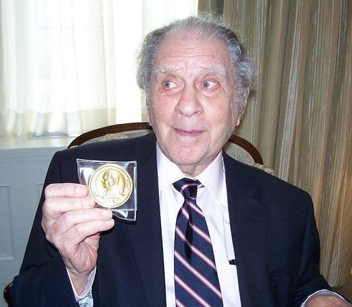 Eric Newman 100th Birthday Medal Presentation