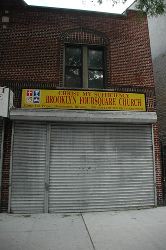 Christ My Sufficiency, Brooklyn Foursquare Church, 603 Rugby Road