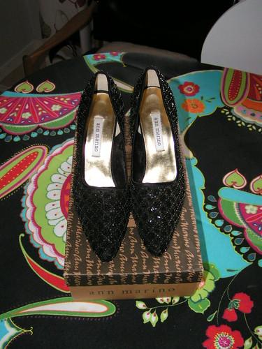 Glittriga skor från NY.