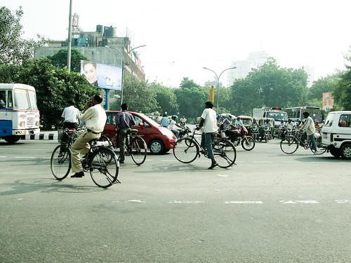 Crossroad traffic