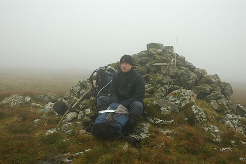 Sheltering Behind The Cairn On Macleod's Table North