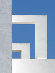 ABSTRACCIN EN AZUL Y BLANCO - WHITE & BLUE ABSTRACTION (juanluisgx) Tags: blue sky white building blanco azul spain edificio cielo cadiz abstraction chipiona eyewashdesign abstraccion borderingperception diamondclassphotographer flickrdiamond whiteblueabstraction